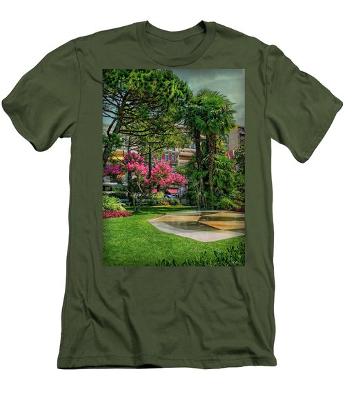 Men's T-Shirt (Athletic Fit) featuring the photograph The Fancy Swiss South-west by Hanny Heim