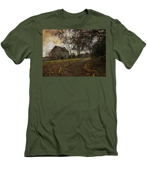 The Farm House  Men's T-Shirt (Athletic Fit)