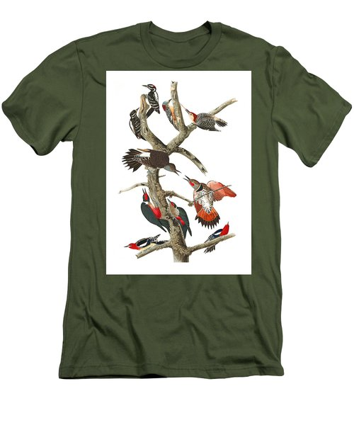 Men's T-Shirt (Slim Fit) featuring the photograph The Fight by Munir Alawi