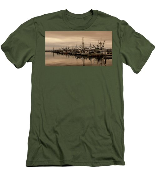 The Fishing Fleet Men's T-Shirt (Slim Fit) by Tony Locke