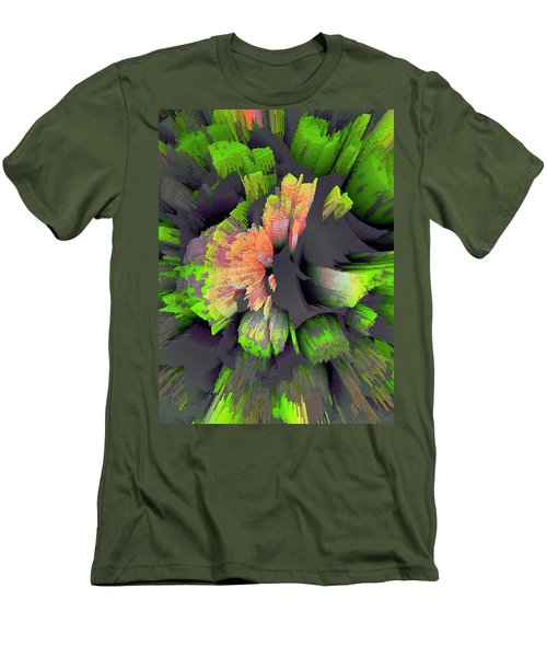 The Flower Factory 2 Men's T-Shirt (Slim Fit) by Moustafa Al Hatter