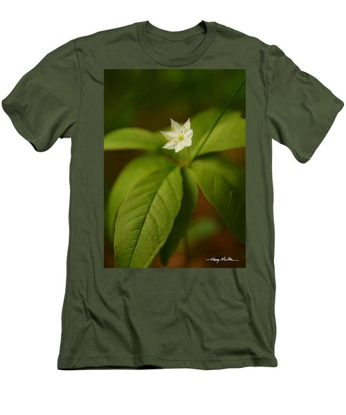 The Flower Of The Dark Woods Men's T-Shirt (Athletic Fit)