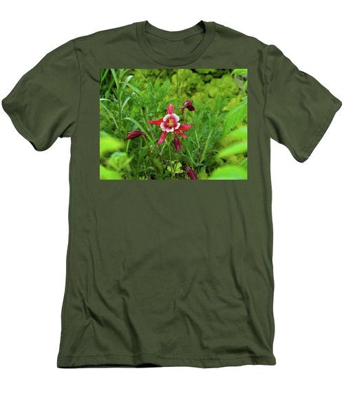 The Flowering Columbine Men's T-Shirt (Athletic Fit)