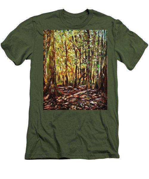 La Foret Du Mount Beuvray Men's T-Shirt (Athletic Fit)