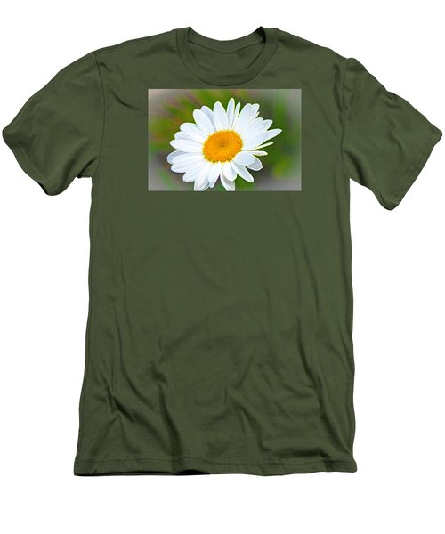 The Friendliest Flower Men's T-Shirt (Athletic Fit)