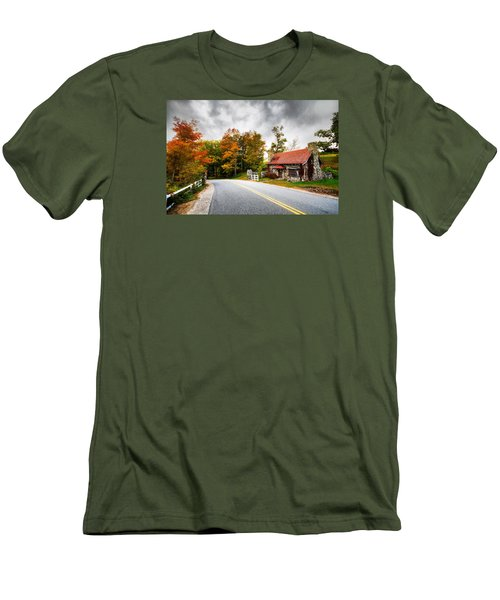 Men's T-Shirt (Slim Fit) featuring the photograph The Gate Keeper by Robert Clifford