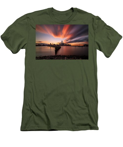 Men's T-Shirt (Slim Fit) featuring the photograph The Gift  by Anthony Fields