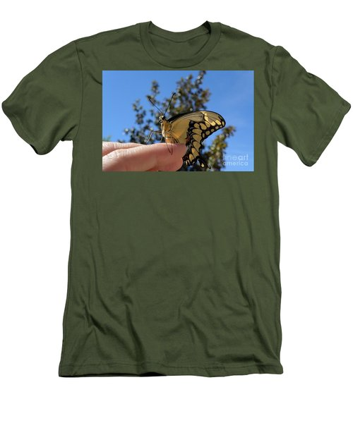 The Glorious Swallowtail  Men's T-Shirt (Athletic Fit)