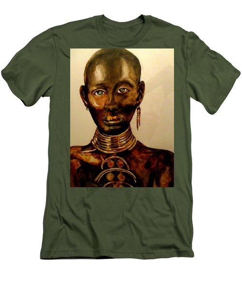 The Golden Black Men's T-Shirt (Athletic Fit)