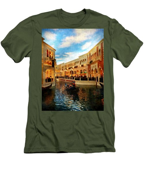 The Gondolier Men's T-Shirt (Slim Fit) by Dan Stone