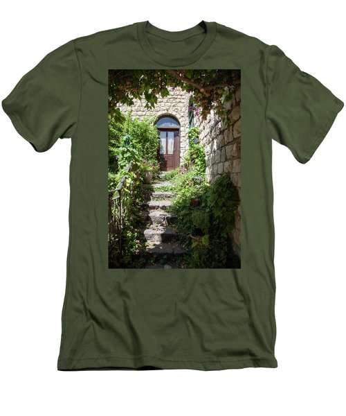 The Green Entrance Men's T-Shirt (Athletic Fit)