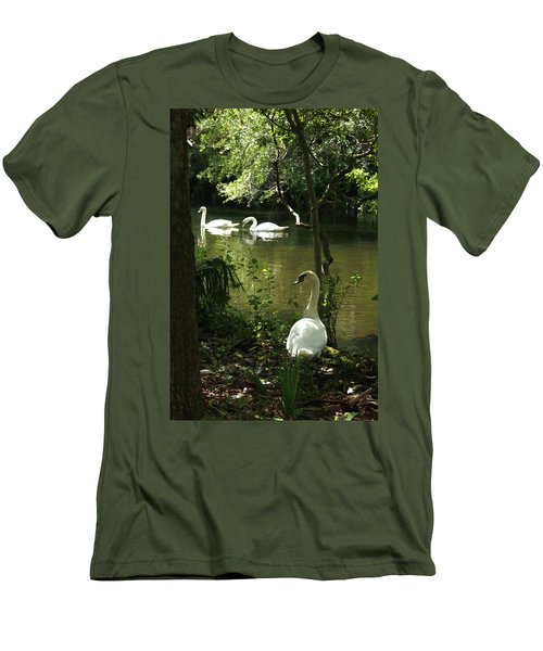The Guard Swan Men's T-Shirt (Athletic Fit)