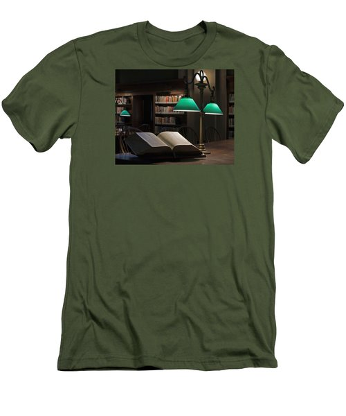 The Guiding Light Men's T-Shirt (Athletic Fit)