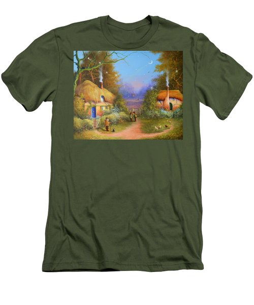 The Hamlet Of Gnarl Mid Summers Eve Men's T-Shirt (Athletic Fit)