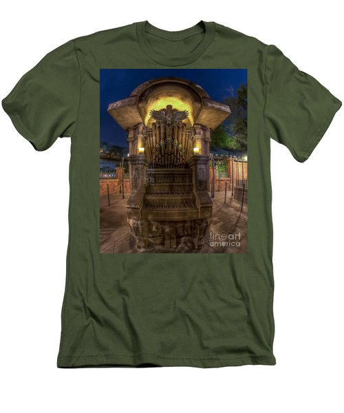 The Haunted Organ Men's T-Shirt (Athletic Fit)