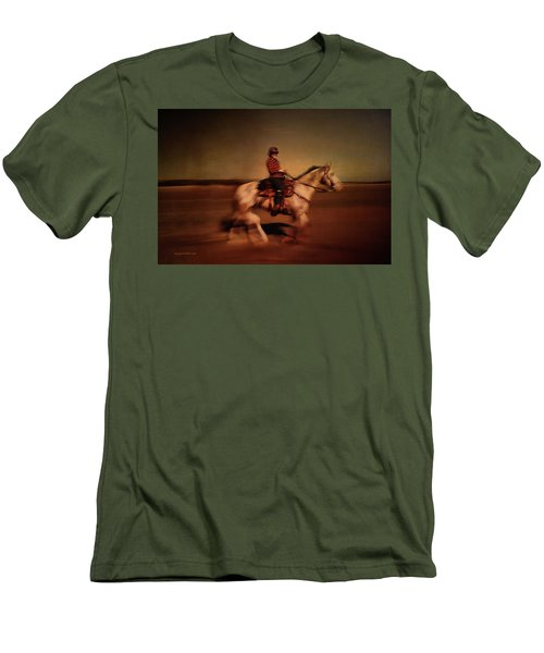 The Horse Rider Men's T-Shirt (Athletic Fit)