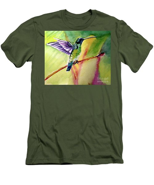 The Hummingbird Men's T-Shirt (Athletic Fit)