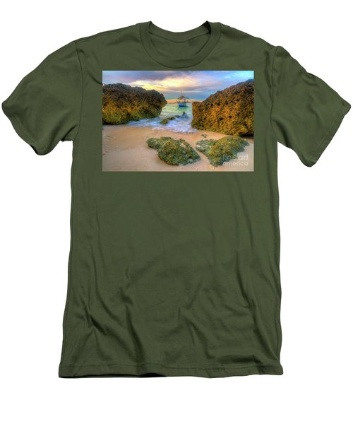 Men's T-Shirt (Slim Fit) featuring the photograph The Inbetweener by Yhun Suarez
