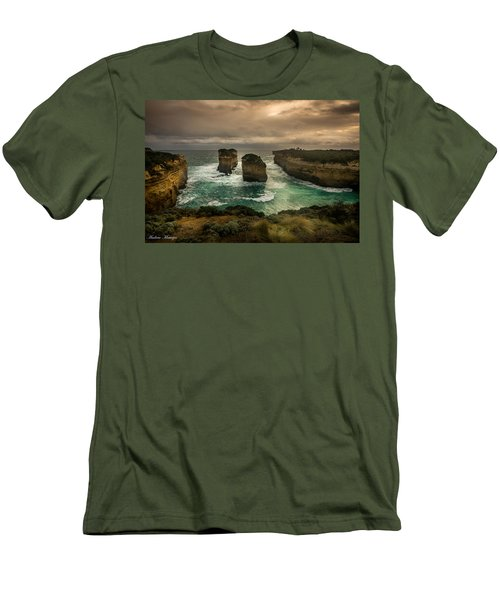 The Inlet Men's T-Shirt (Slim Fit) by Andrew Matwijec