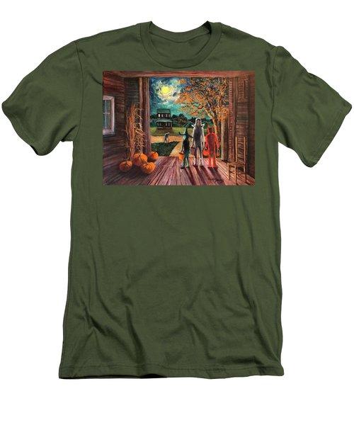 The Intruder Men's T-Shirt (Slim Fit) by Randy Burns