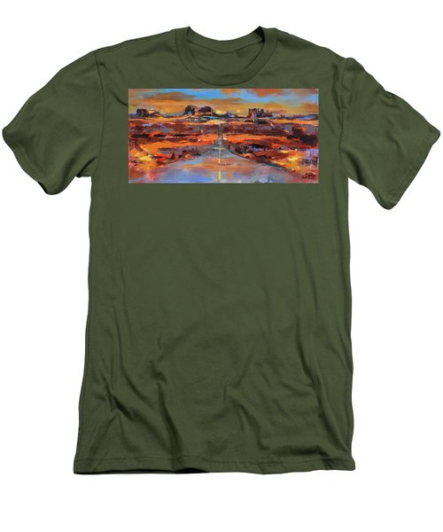 The Land Of Rock Towers Men's T-Shirt (Athletic Fit)