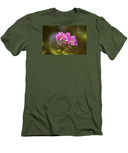Men's T-Shirt (Slim Fit) featuring the photograph The Last Of Summer by Joan Bertucci