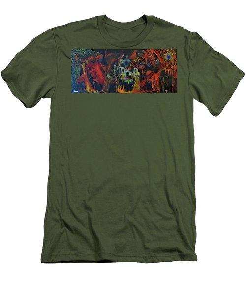 The Last Supper Men's T-Shirt (Athletic Fit)