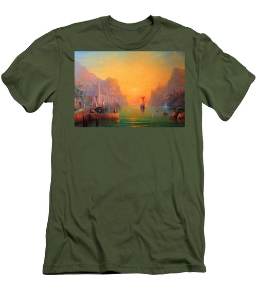 The Leaving Men's T-Shirt (Athletic Fit)