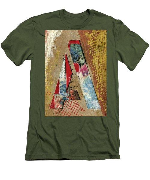 The Letter A Men's T-Shirt (Athletic Fit)