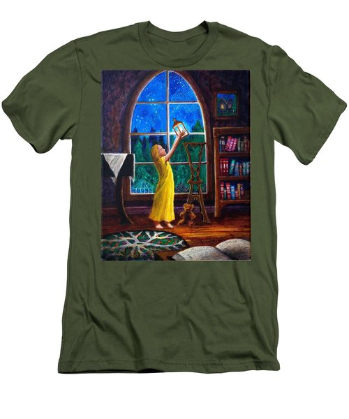 The Light And The Lampstand Men's T-Shirt (Athletic Fit)