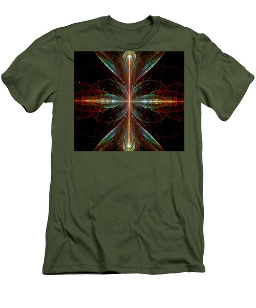 The Light Within Men's T-Shirt (Slim Fit) by Lea Wiggins