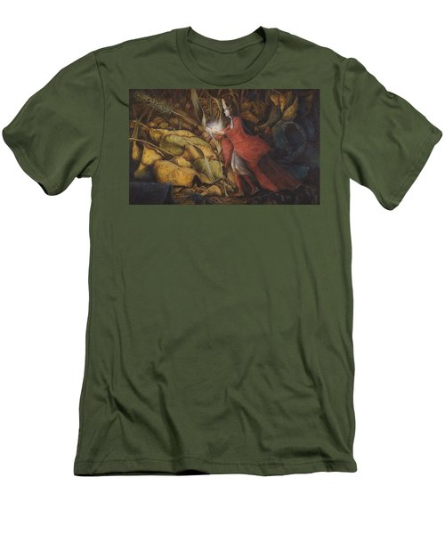 The Little Peoples' Queen Men's T-Shirt (Athletic Fit)