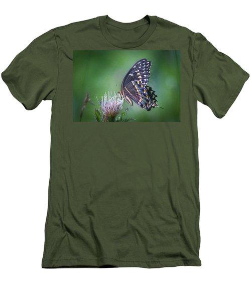 The Mattamuskeet Butterfly Men's T-Shirt (Athletic Fit)