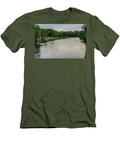 The Maumee River Men's T-Shirt (Athletic Fit)