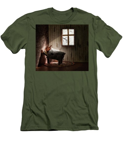 Men's T-Shirt (Slim Fit) featuring the photograph The Metamorphosis Redux by Mark Fuller