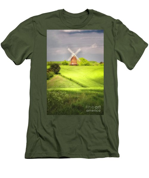 The Mill Uphill Men's T-Shirt (Athletic Fit)