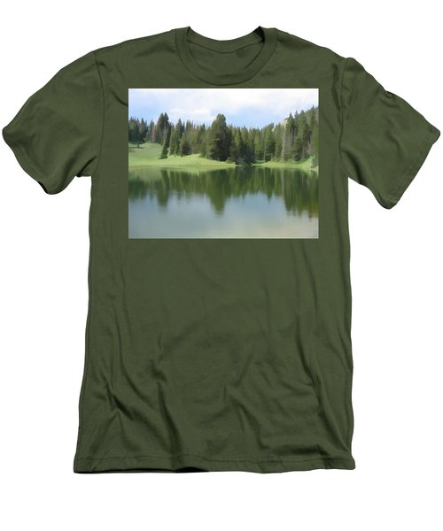 The Morning Calm Men's T-Shirt (Athletic Fit)