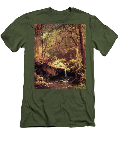 The Mountain Brook Men's T-Shirt (Athletic Fit)