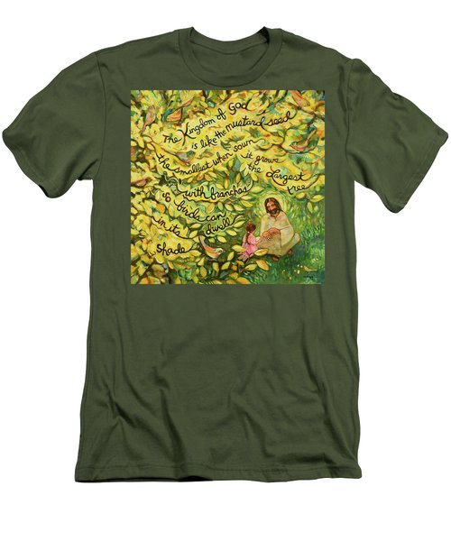 The Mustard Seed Men's T-Shirt (Athletic Fit)