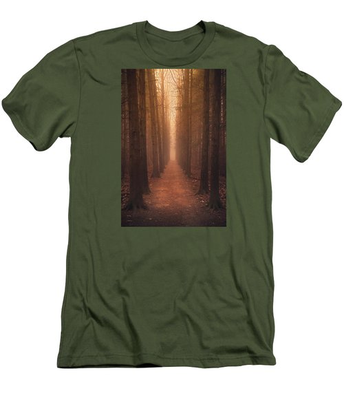 The Narrow Path Men's T-Shirt (Slim Fit) by Rob Blair