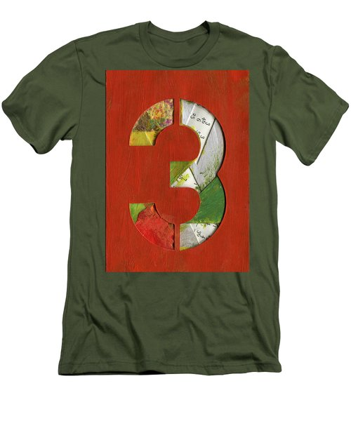 The Number 3 Men's T-Shirt (Athletic Fit)