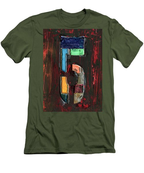 The Number 5 Men's T-Shirt (Athletic Fit)