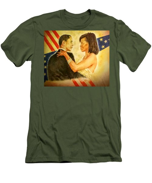 Barack And Michelle Men's T-Shirt (Athletic Fit)