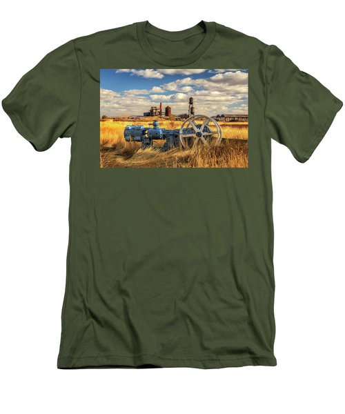 The Old Lumber Mill Men's T-Shirt (Slim Fit) by James Eddy