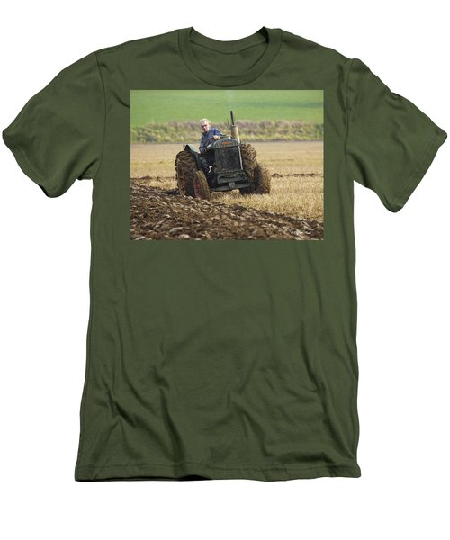 The Old Ploughman Men's T-Shirt (Slim Fit) by Roy McPeak