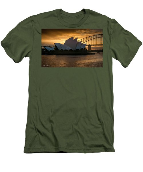 The Opera House Men's T-Shirt (Slim Fit) by Andrew Matwijec