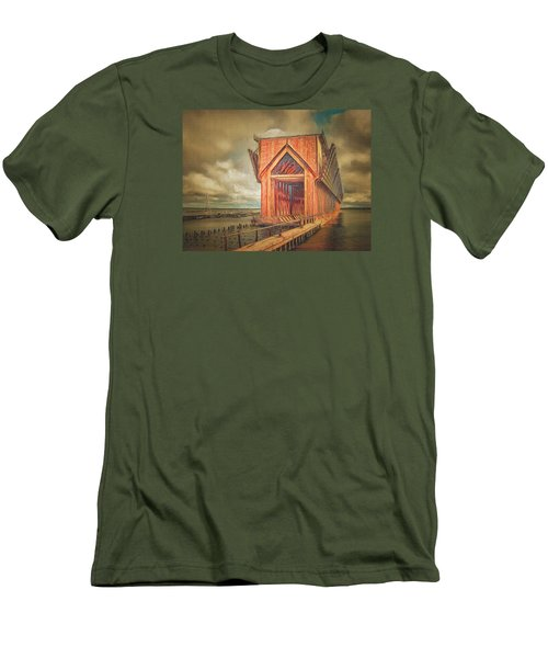 The Ore Is Gone Redux Men's T-Shirt (Slim Fit) by MJ Olsen