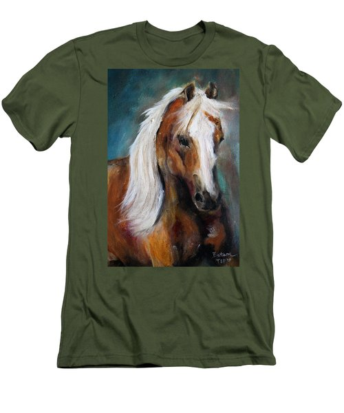 The Palomino I Men's T-Shirt (Slim Fit) by Barbie Batson