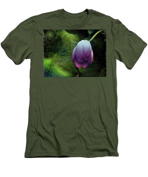 Men's T-Shirt (Athletic Fit) featuring the photograph The Passing Storm by Bellesouth Studio