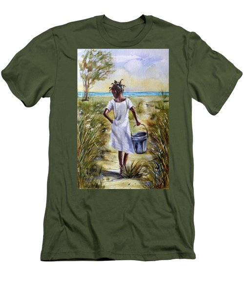 The Path To The Sea Men's T-Shirt (Athletic Fit)